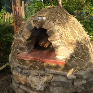 Cob Oven - almost there